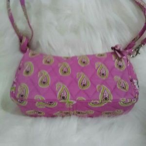 Vera Bradley Bermuda Pink Small Cross Body👛